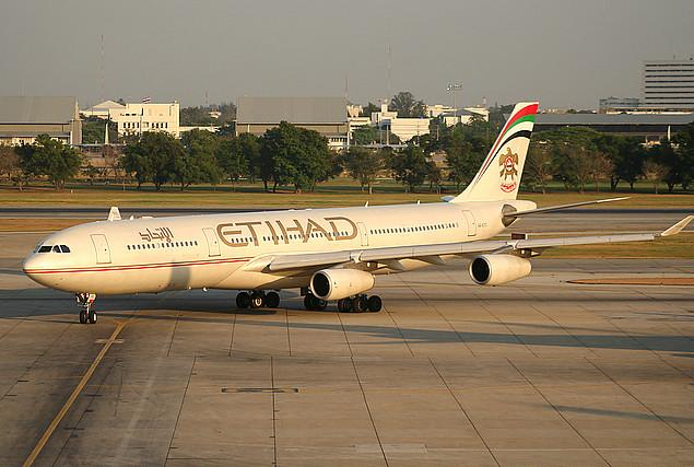 Airbus A340-300 авиакомпании Etihad Airways