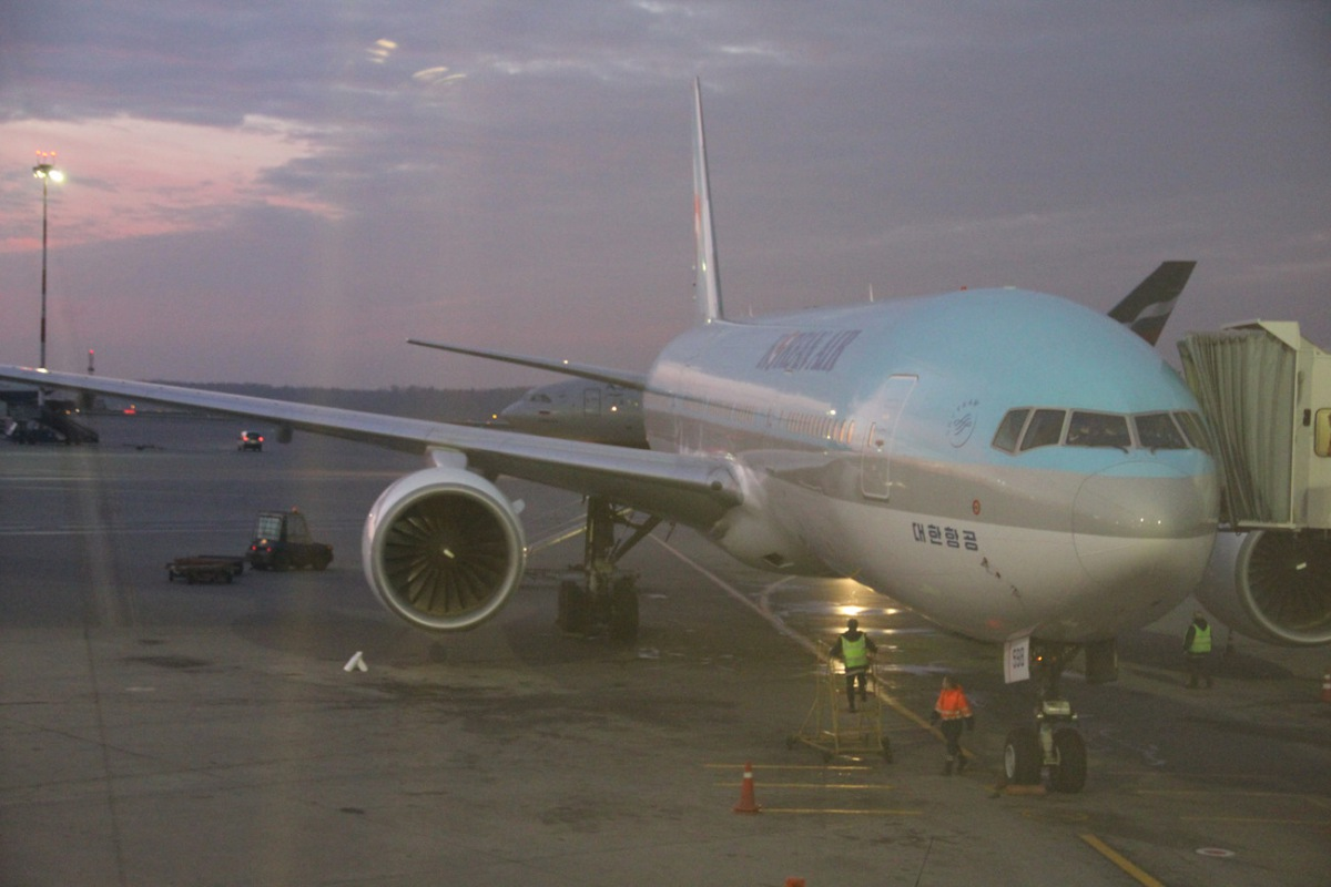 Boeing 777-200 of Korean Air
