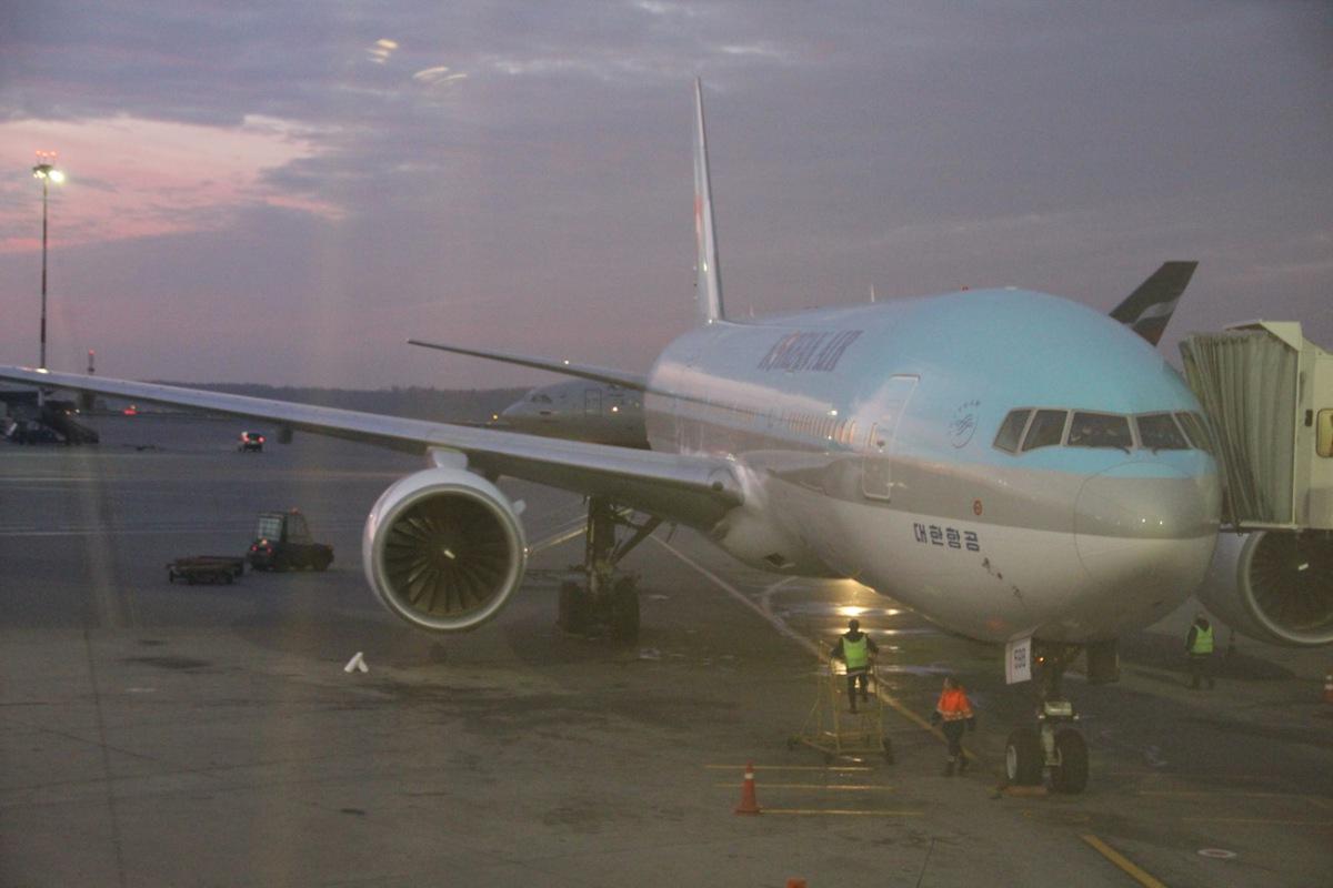 Boeing 777-200 of Korean Air