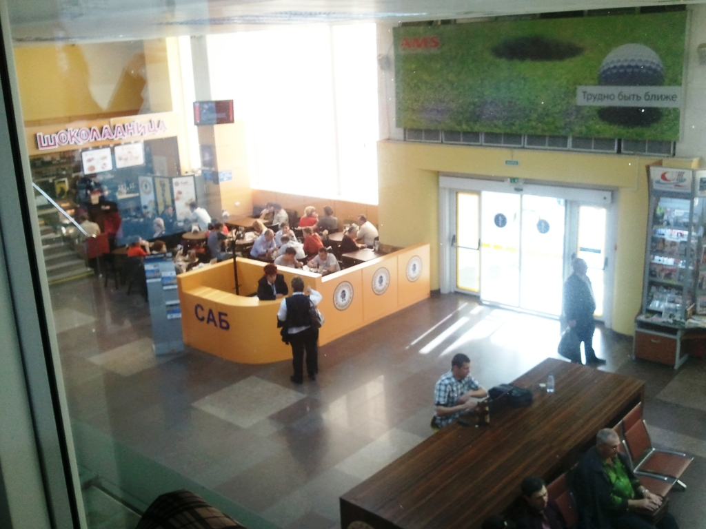 В аэропорту Краснодара