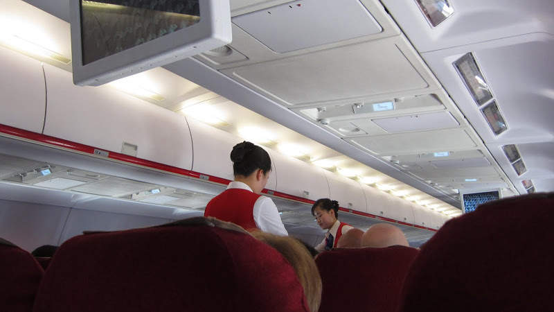 Air Koryo flight