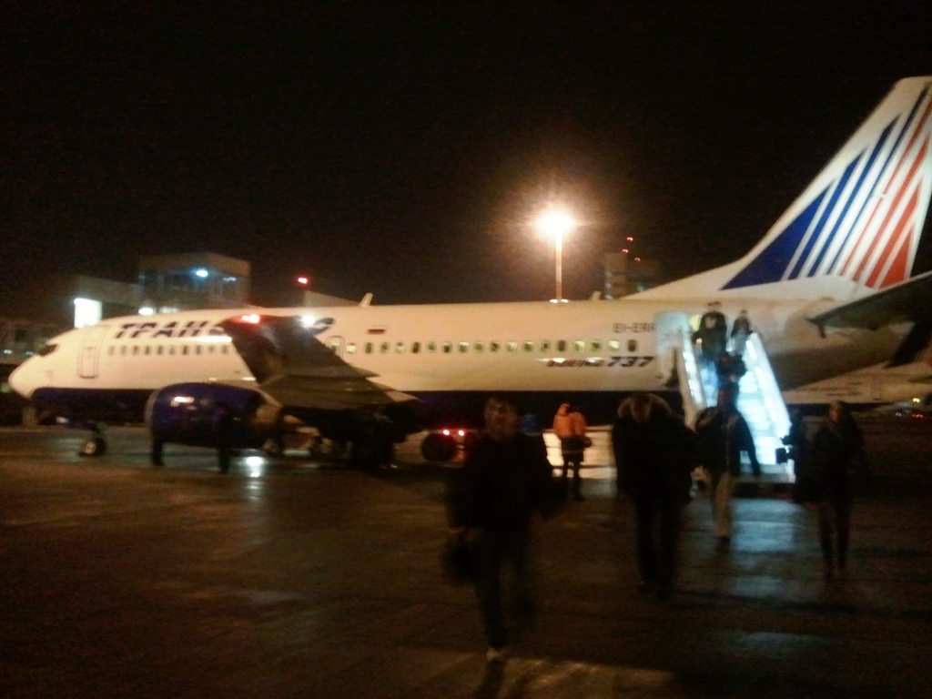 Улётный рейс Трансаэро: Краснодар - Москва - Екатеринбург, часть 2.