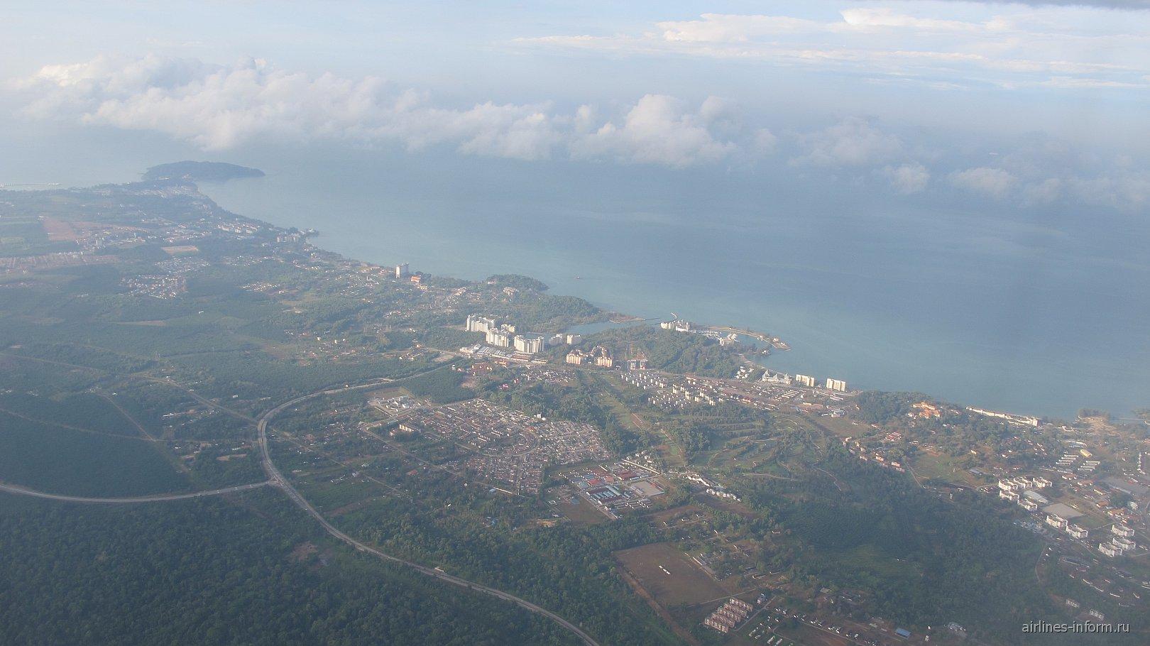 Курортная зона рядом с Портом Диксон в Малайзии