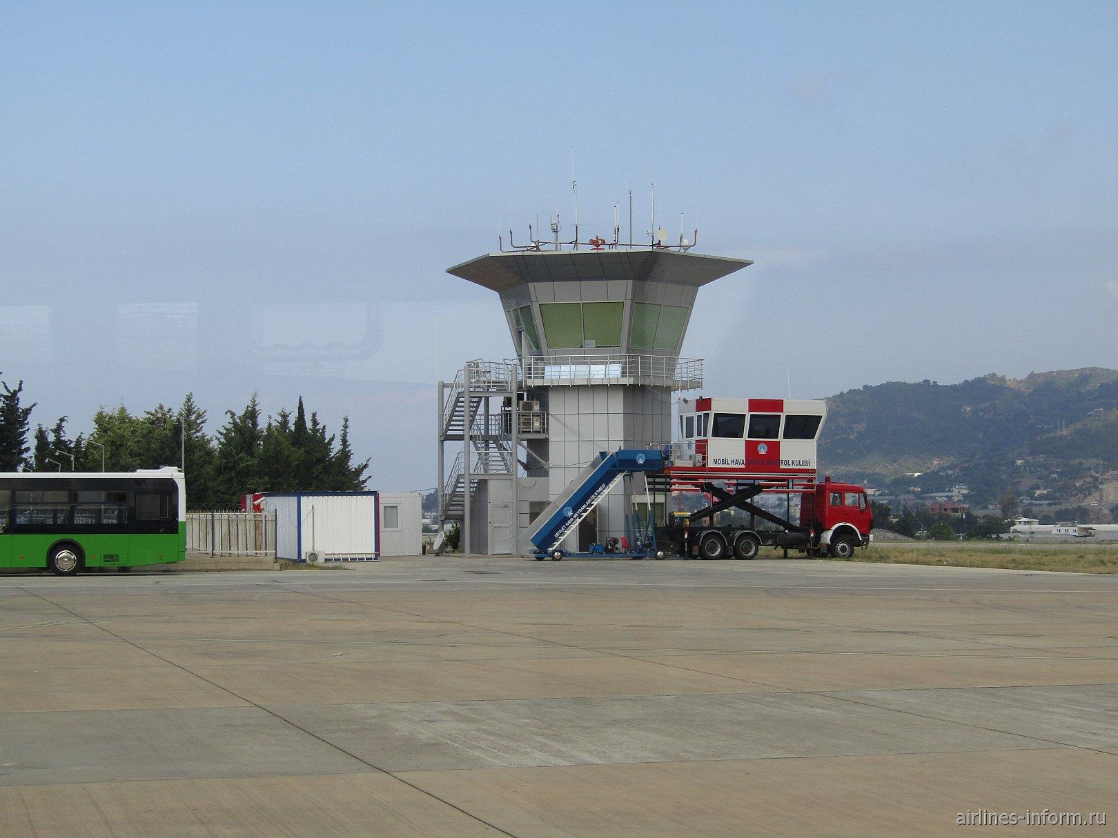 Диспетчерская башня аэропорта Алания Газипаша