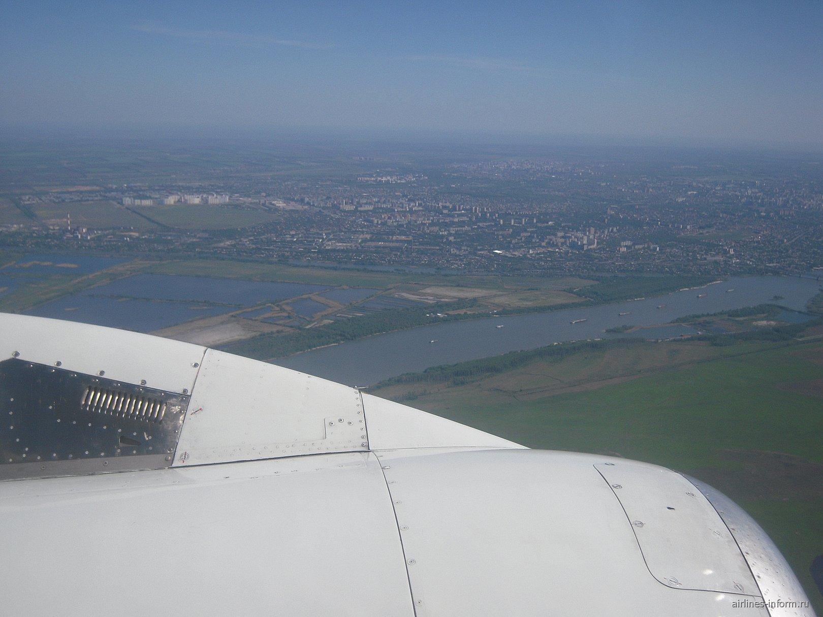 Рейс Санкт-Петербург-Ростов авиакомпании Россия