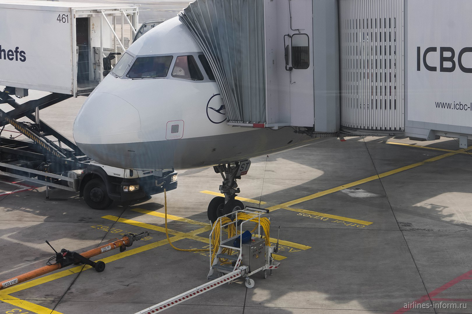 Nonstop you. Франкфурт - Москва LH1450 Lufthansa