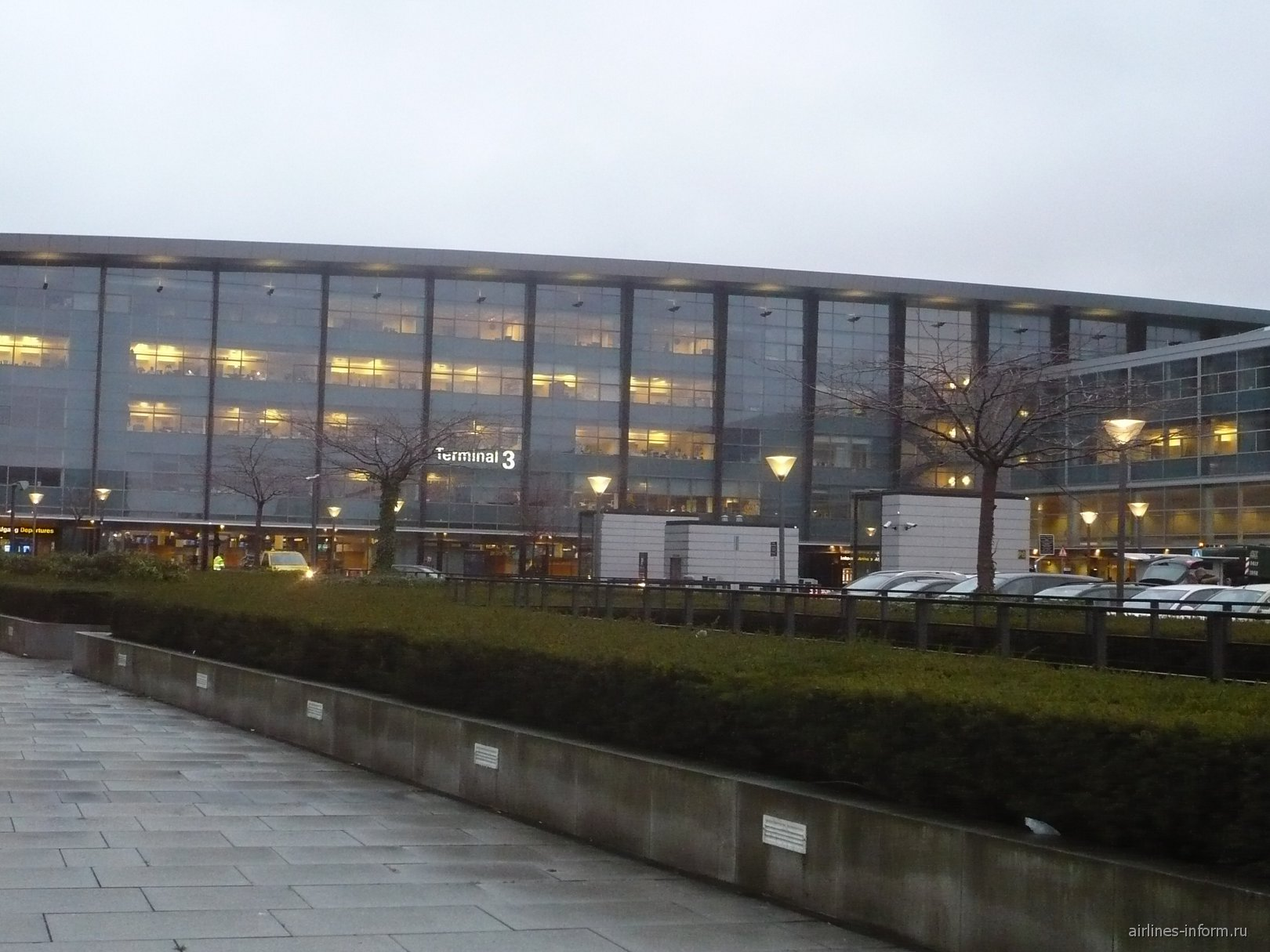 Терминал 3 аэропорта Копенгаген Каструп