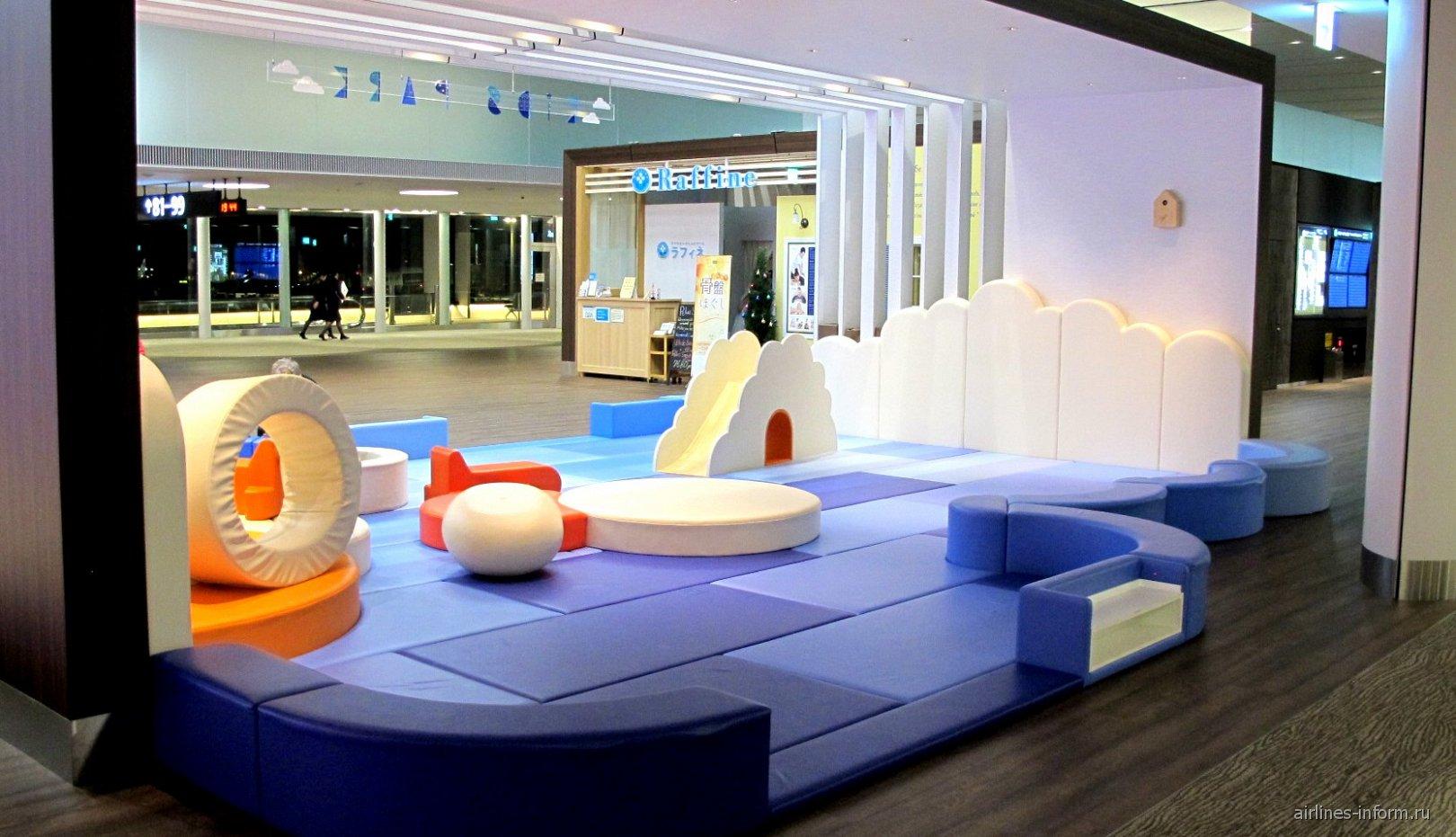 Детская игровая площадка в терминале 2 аэропорта Токио Нарита