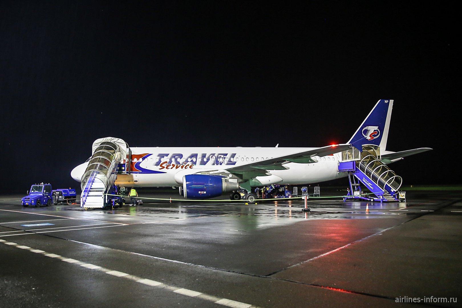Бургас - Острава на чешско-тунисском самолете