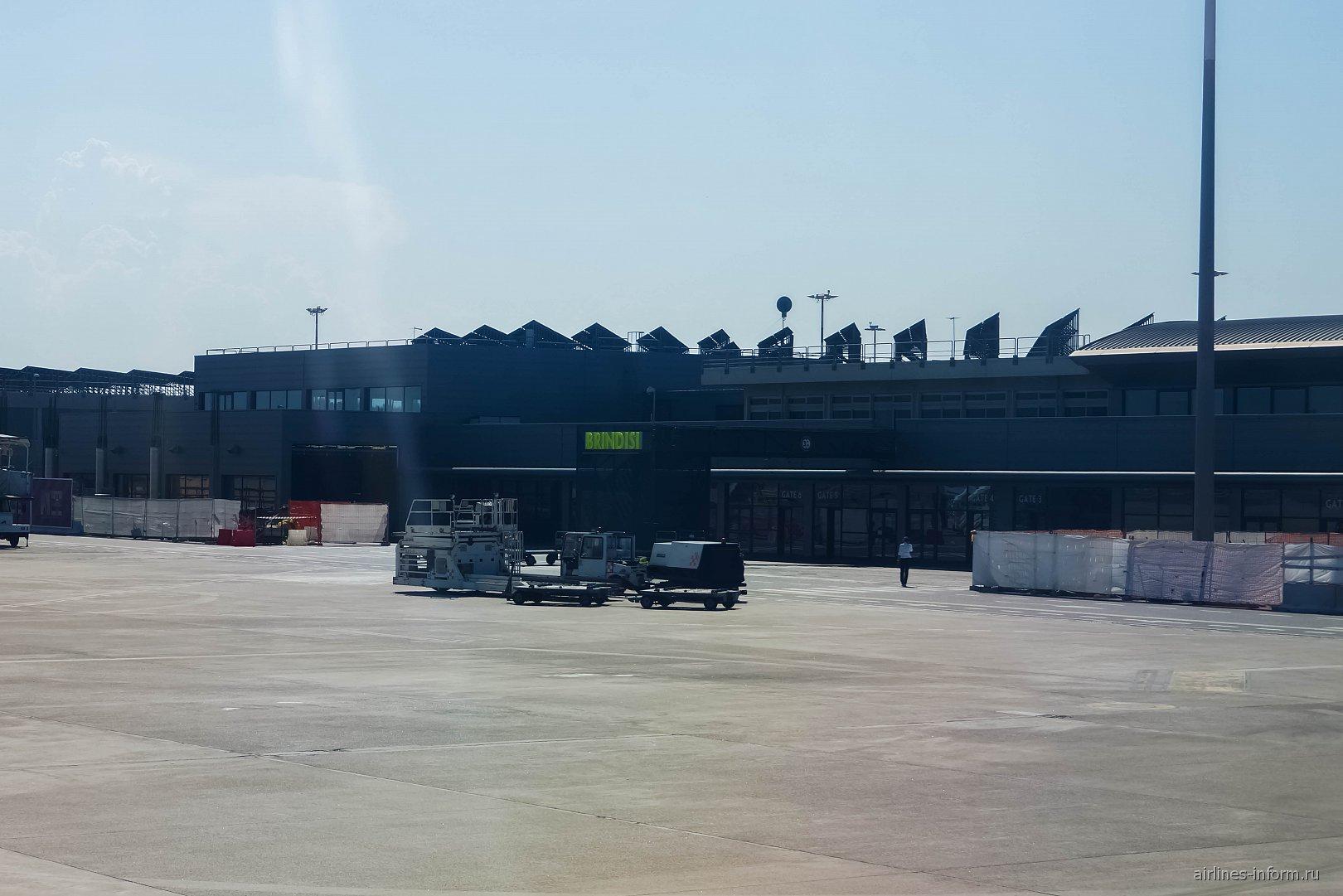 Аэровокзал аэропорта Бриндизи Саленто