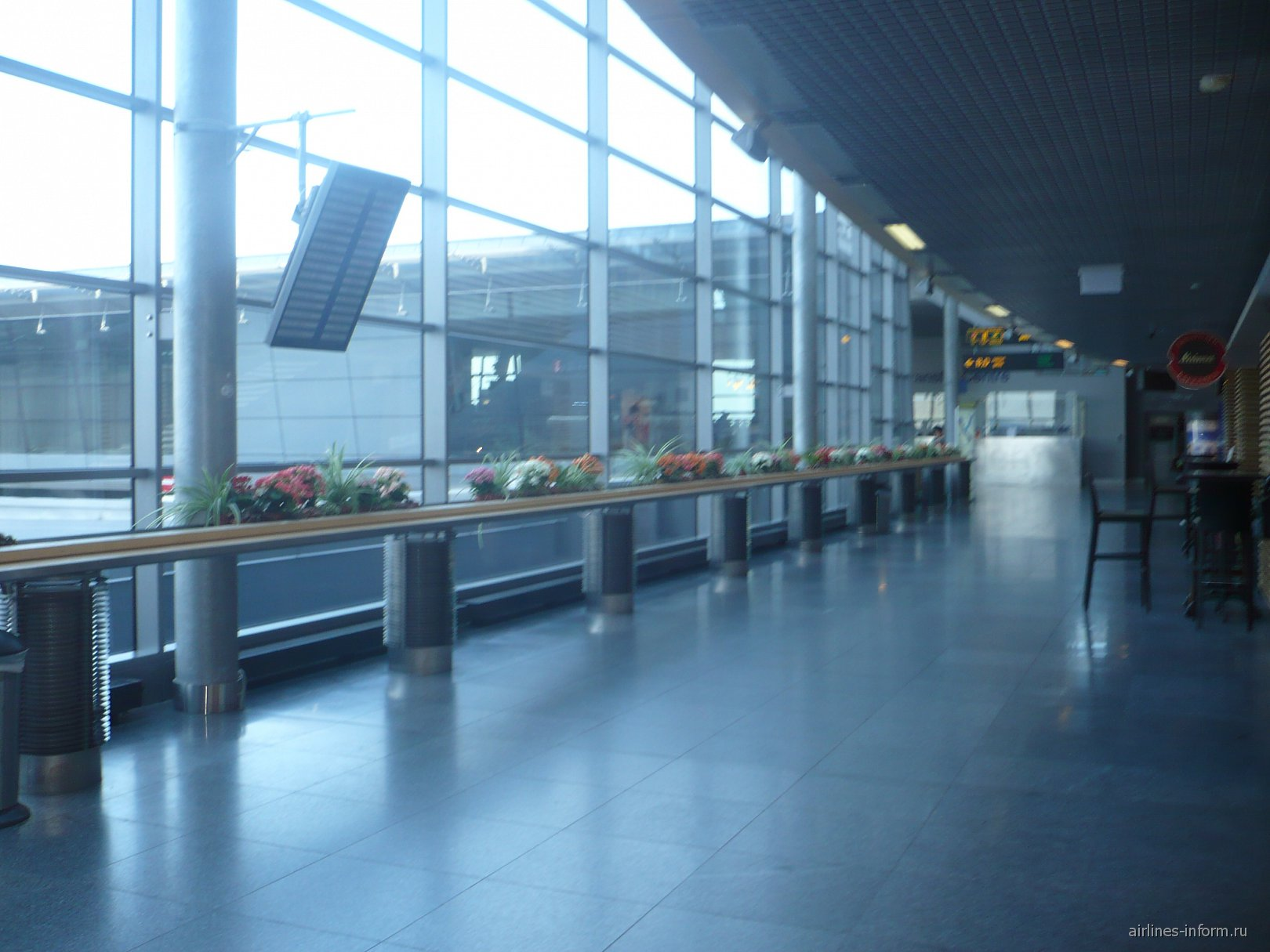 В аэропорту Рига