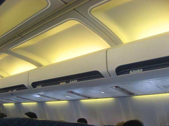 Багажные полки самолета Боинг-737-500 Днеправиа