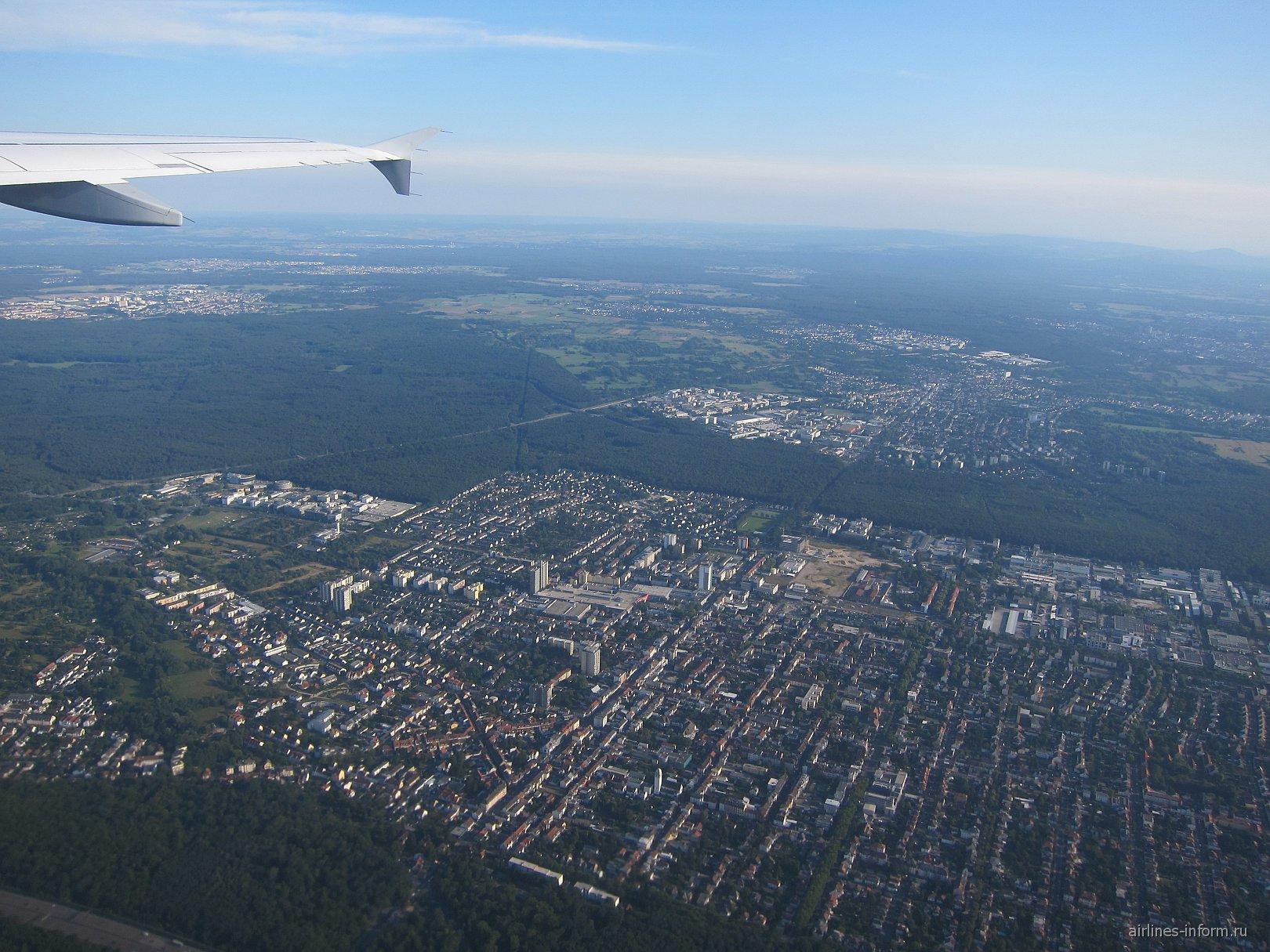 Леса в окрестностях города Франкфурт-на-Майне