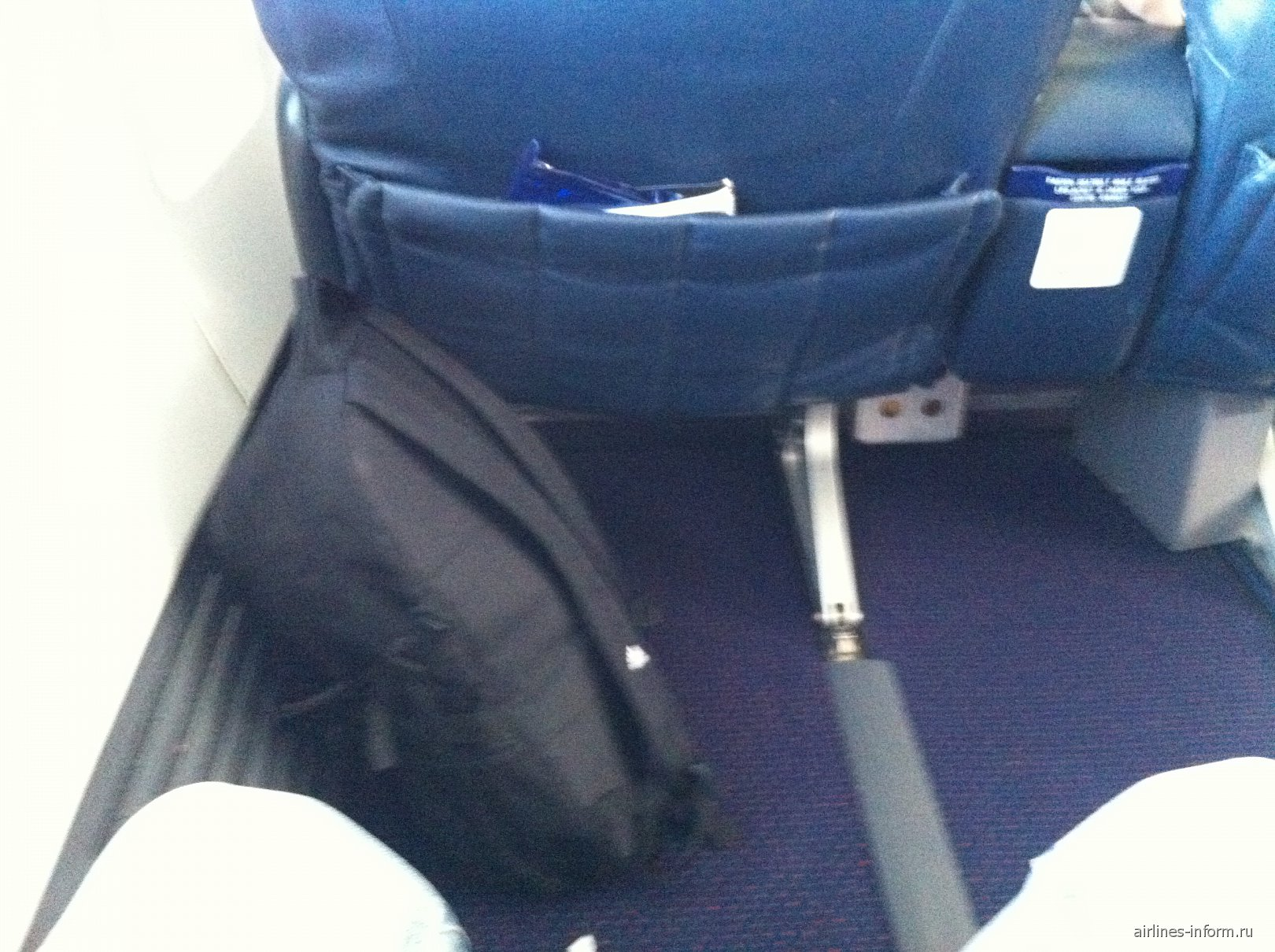 Кресло бизнес-класса в Боинге-737-800 Трансаэро