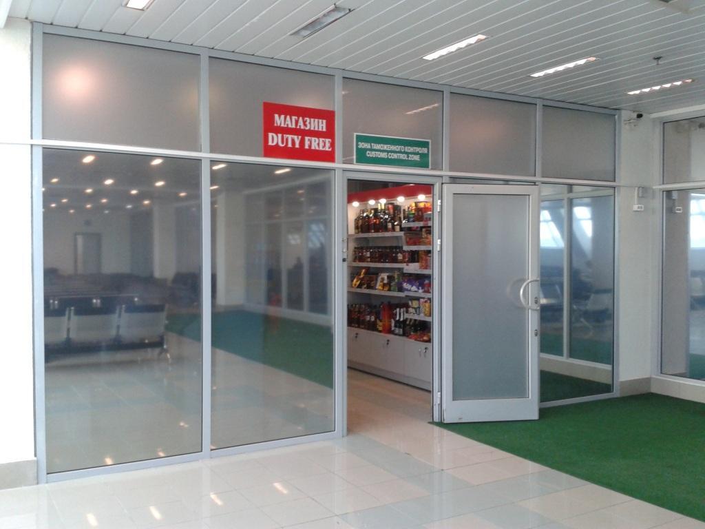 В аэропорту Уфа