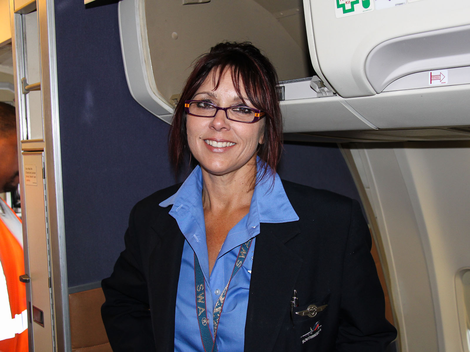 Стюардесса авиакомпании Southwest Airlines