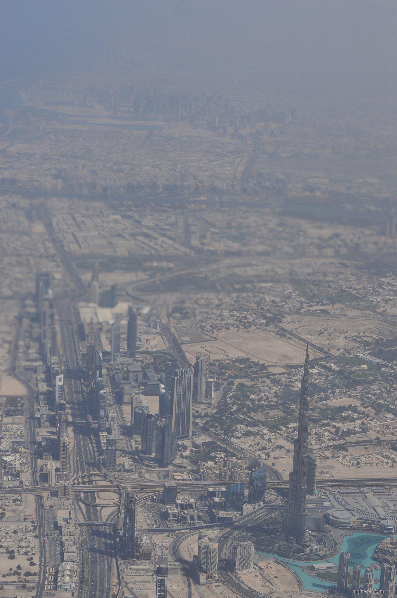 В полете на Дубаем
