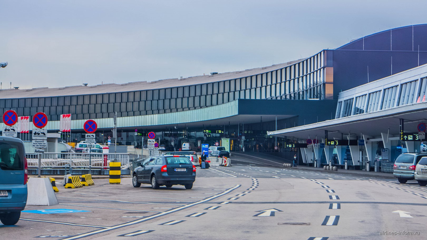 Терминал 3 аэропорта Вена Швехат