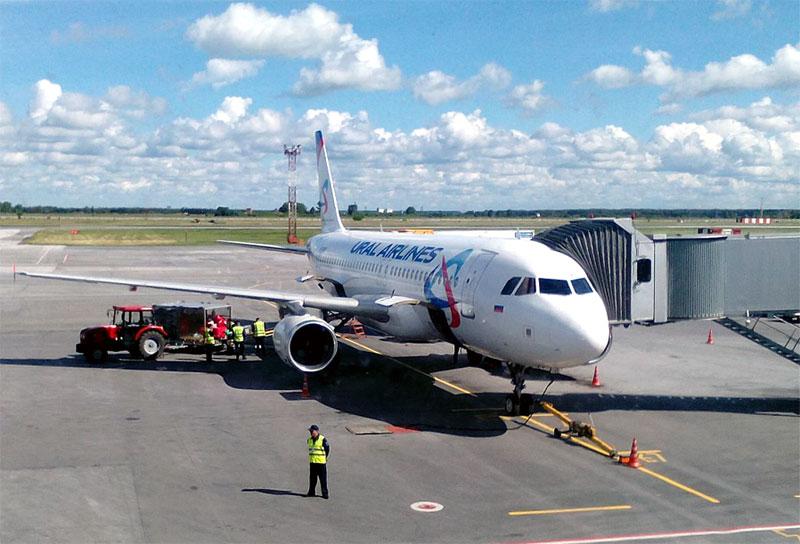 Новосибирск (Толмачёво)- Екатеринбург (Кольцово) с Уральскими авиалиниями