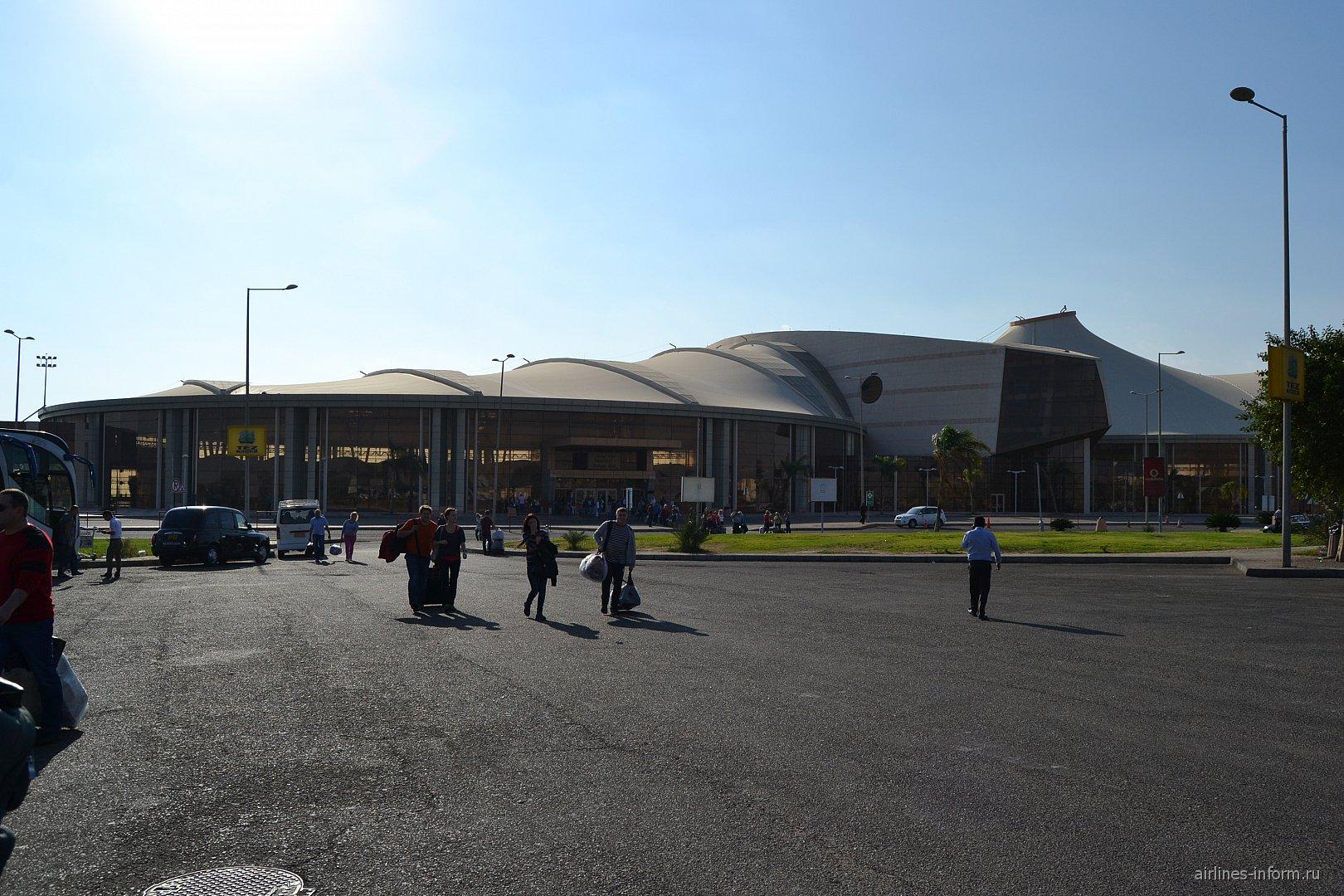Пассажирские терминал 1 аэропорта Шарм-Эль-Шейх