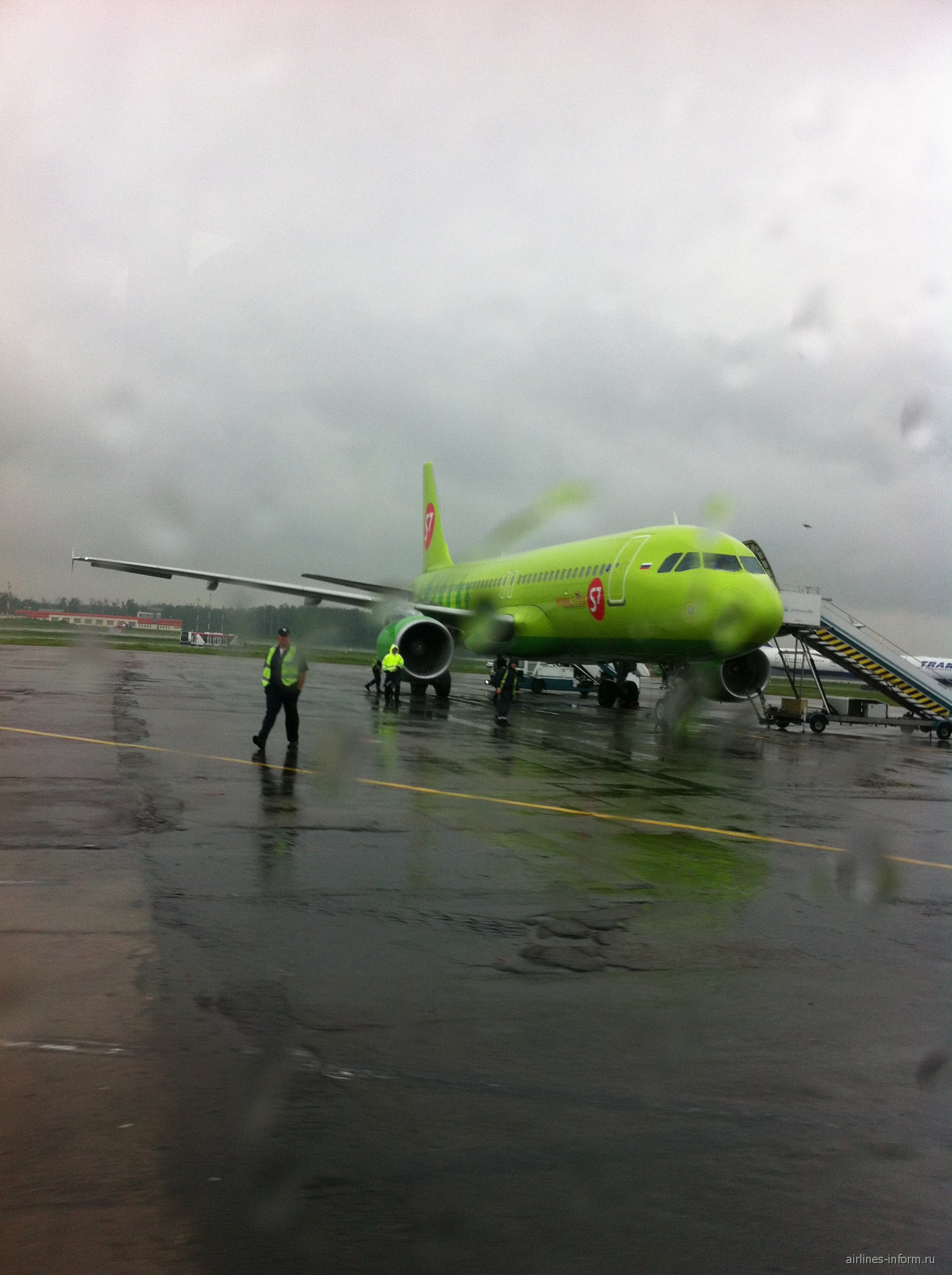 A320 VQ-BRD S7 Airlines