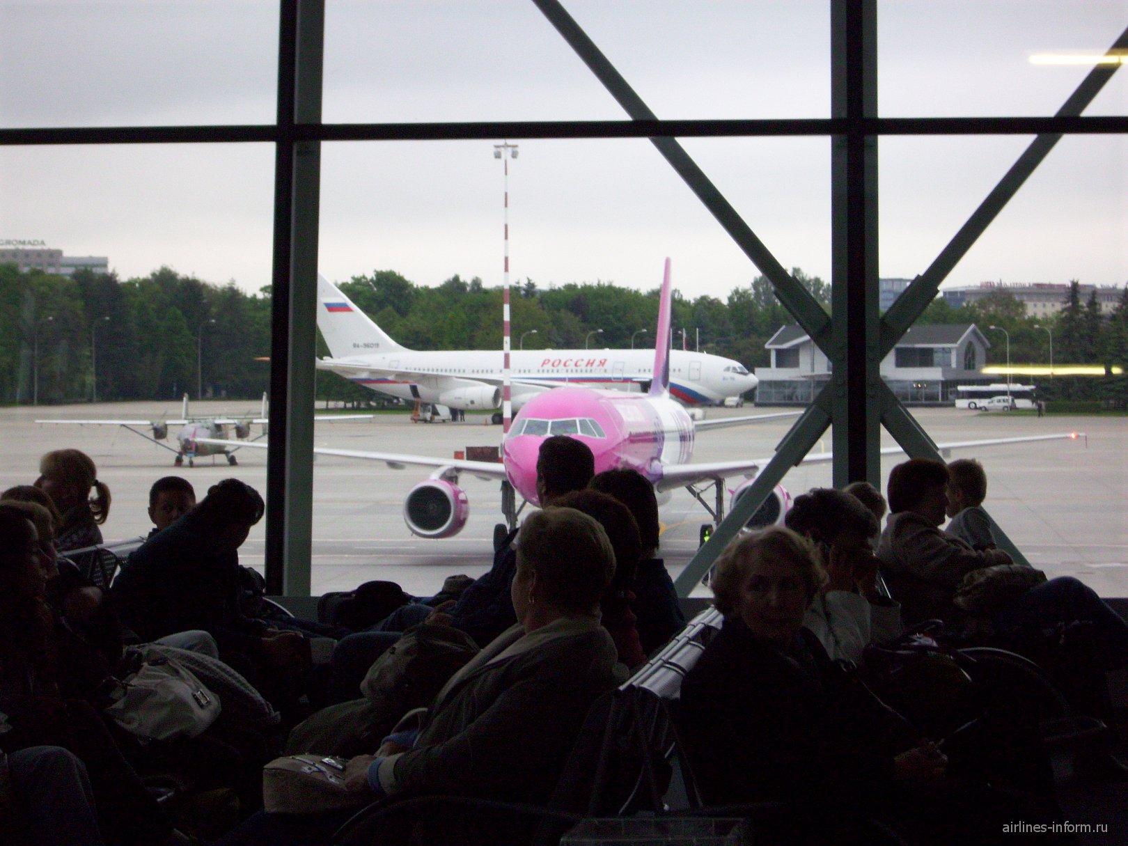 В аэропорту Варшавы