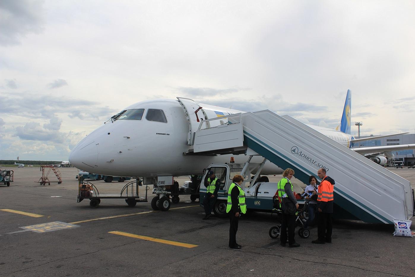 Перелет из Киева в Норильск через международный аэропорт «Домодедово»
