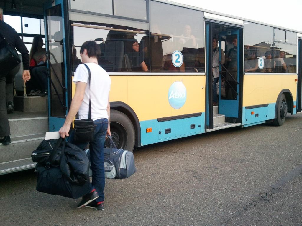 Посадка на рейс Краснодар-Москва авиакомпании Трансаэро