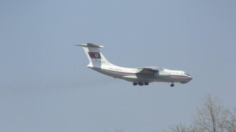 Ил-76 авиакомпании Air Koryo