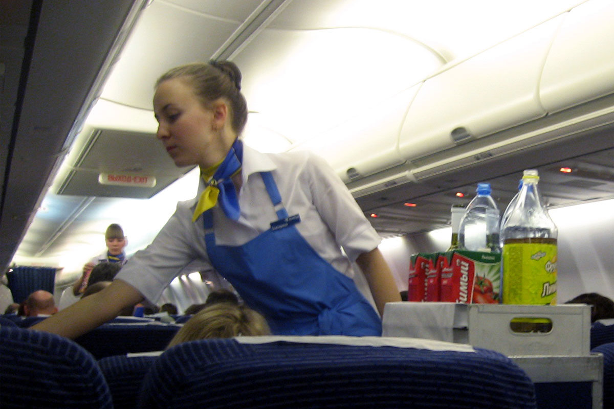 Бортпроводники авиакомпании НордСтар
