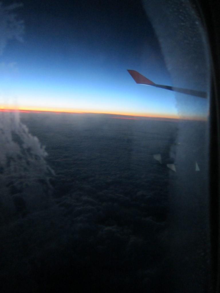 Рейс Нью-Йорк-Франкфурт авиакомпании Люфтганза