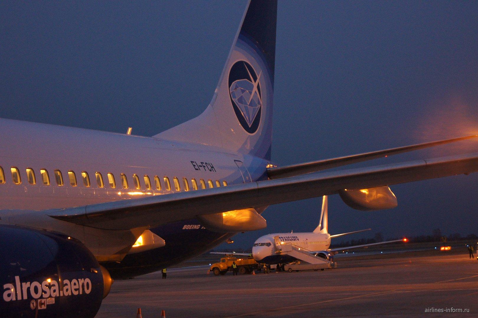 "Боинг-737-800 авиакомпании ""Алроса"""