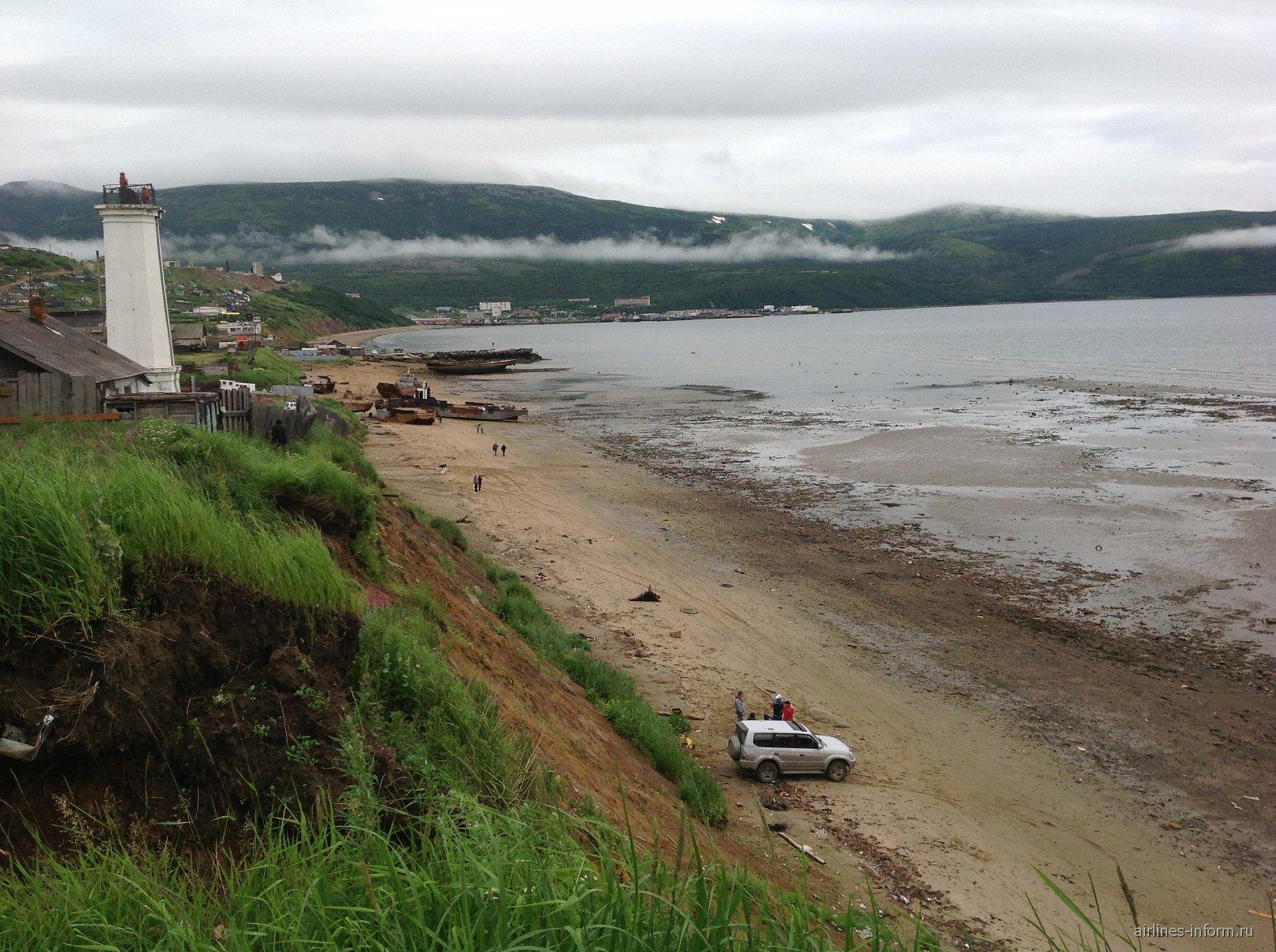 Охотское море в Магадане