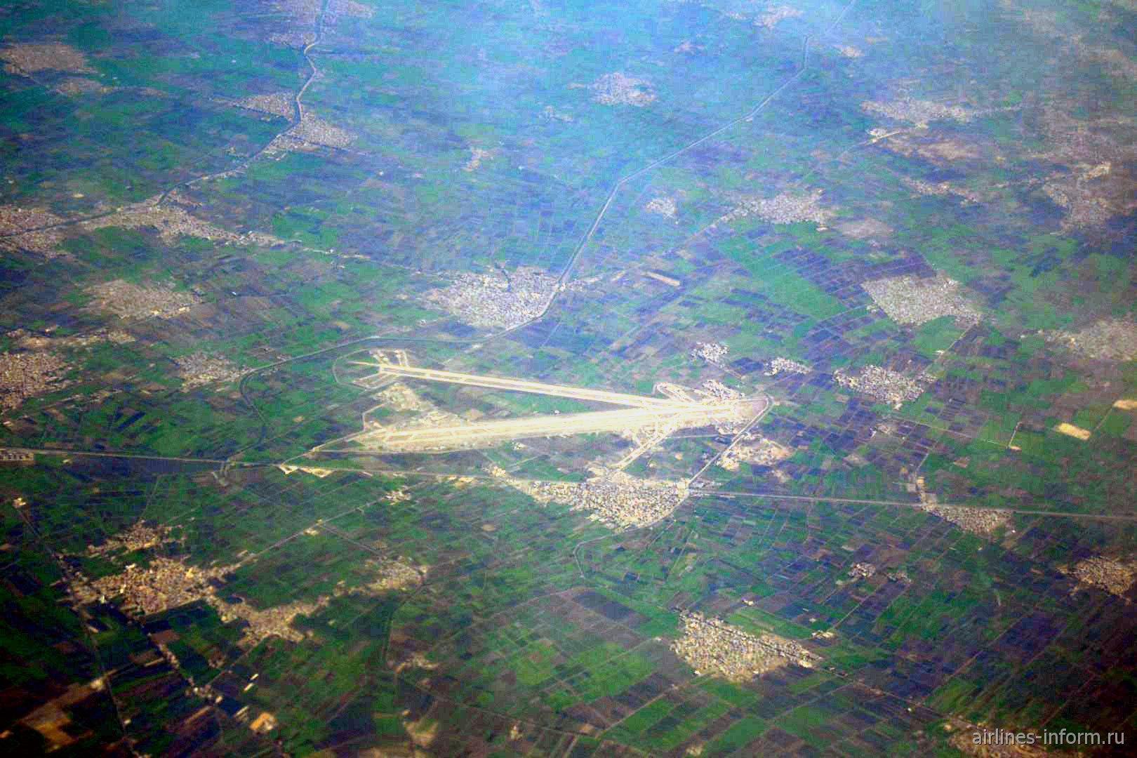 В полете над севером Египта