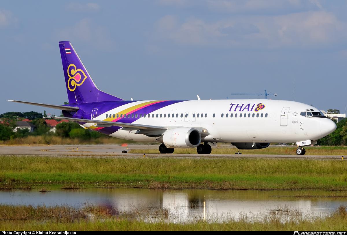 Боинг-737-400 Тайских авиалиний