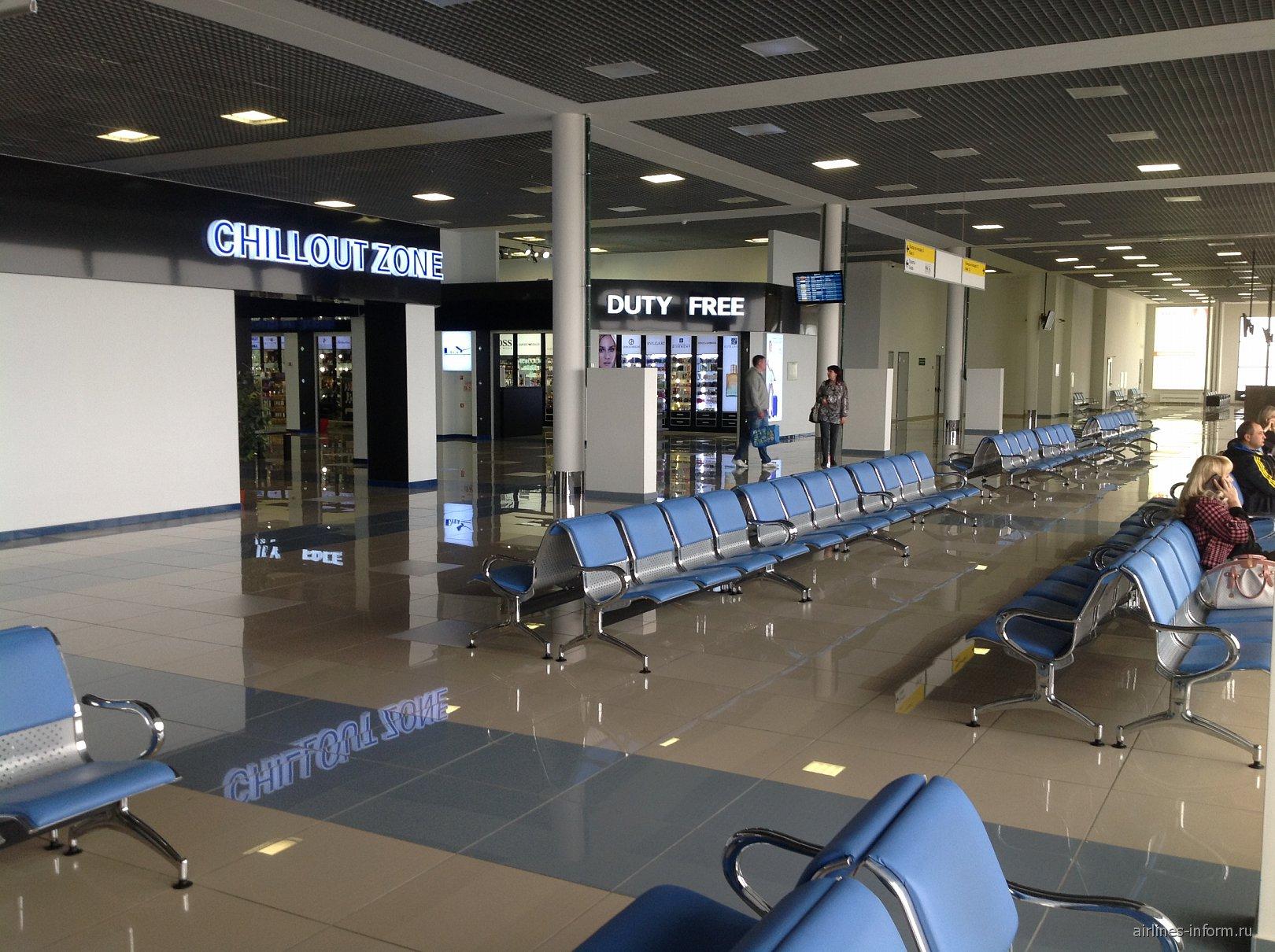 В чистой зоне международных рейсов аэропорта Владивостока