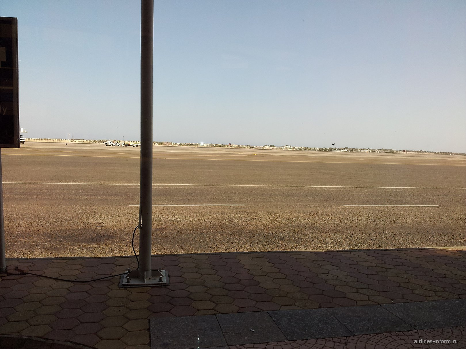 В аэропорту Шарм-Эль-Шейх