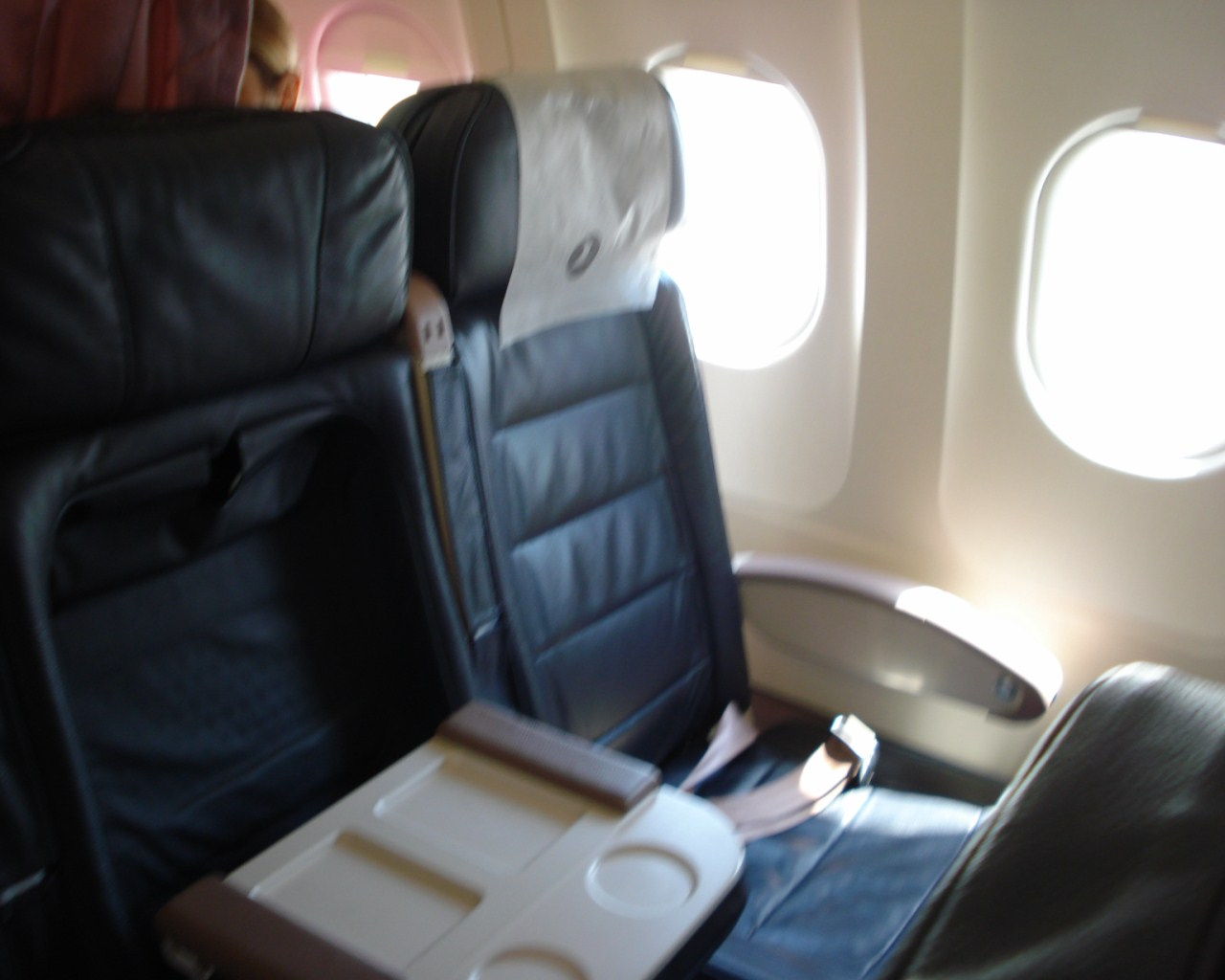 Бизнес-класс в самолете Airbus A320 Turkish Airlines