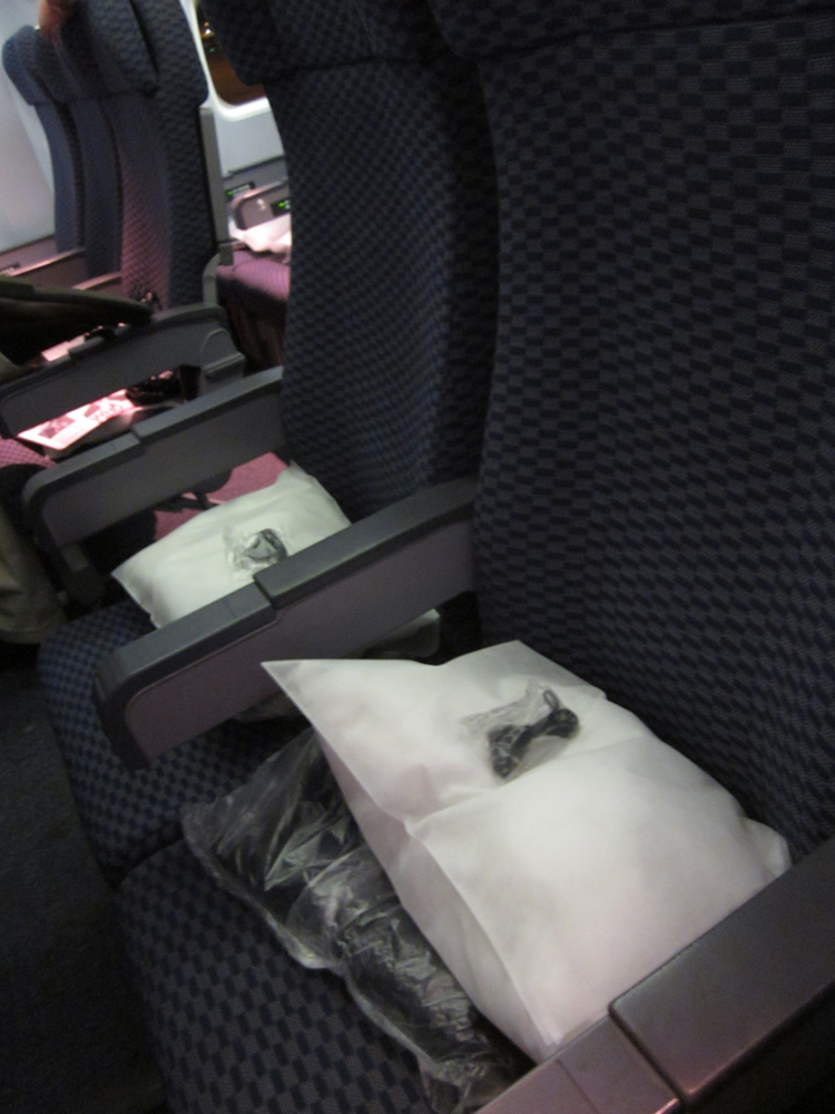 Seats in Boeing 737-800 of United Airlines