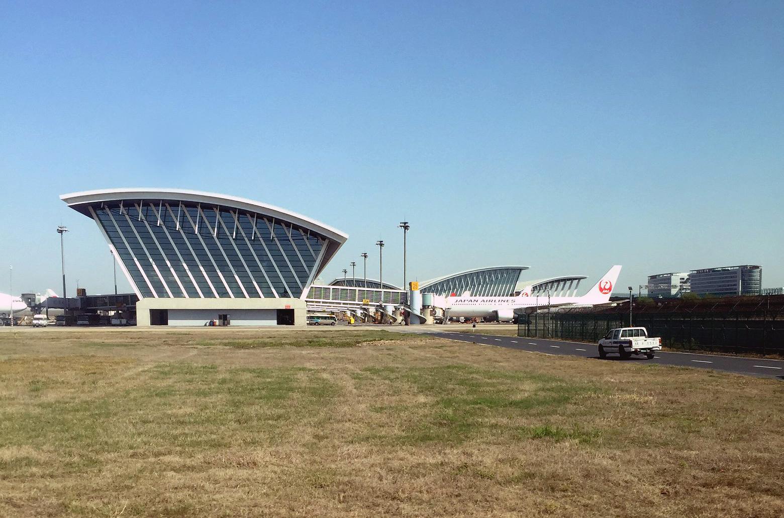 Пассажирский терминал аэропорта Шанхай Пудун