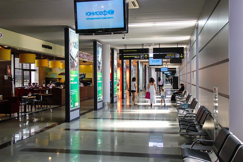 Выходы на посадку в аэропорту Сочи