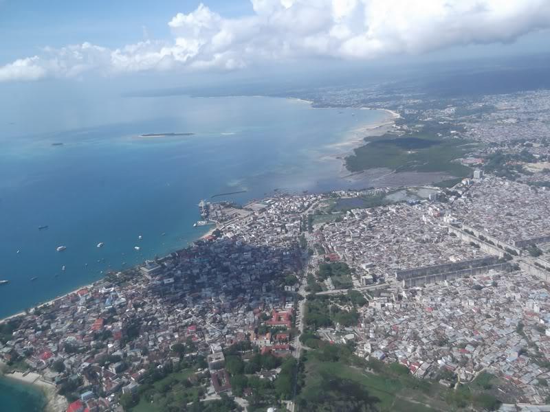 Город Стоун-Таун в Танзании