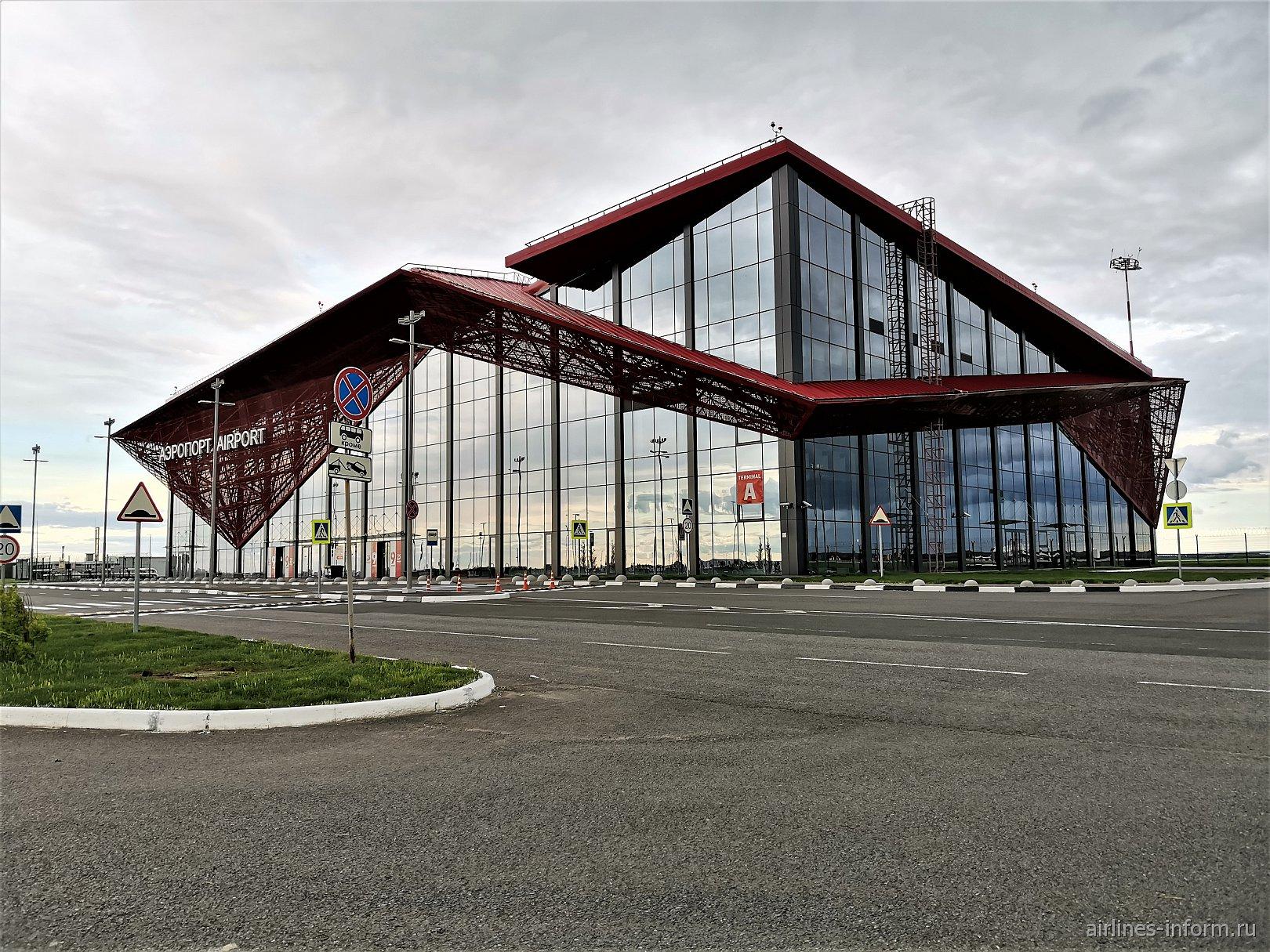 Новый терминал А аэропорта Саранск
