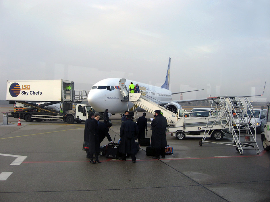 MIAT Boeing 737-800 in Berlin Tegel Airport