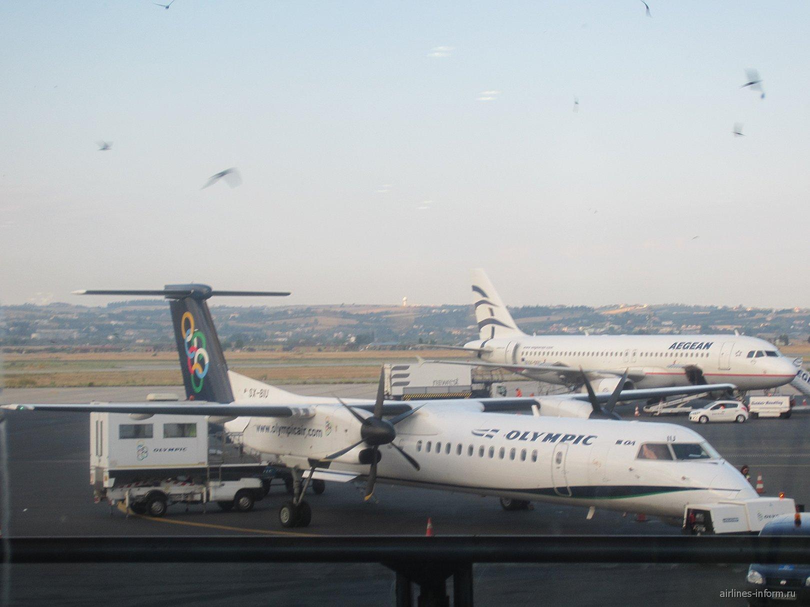 В аэропорту Салоники