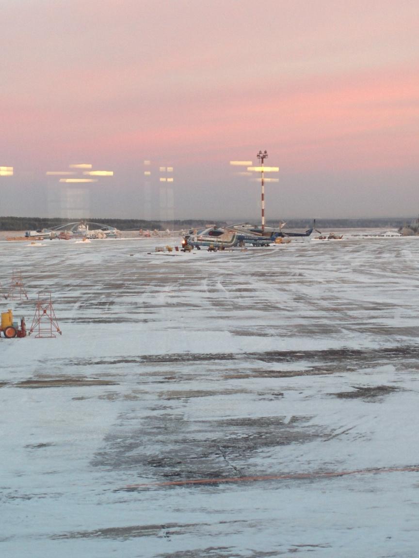 В аэропорту Ухта