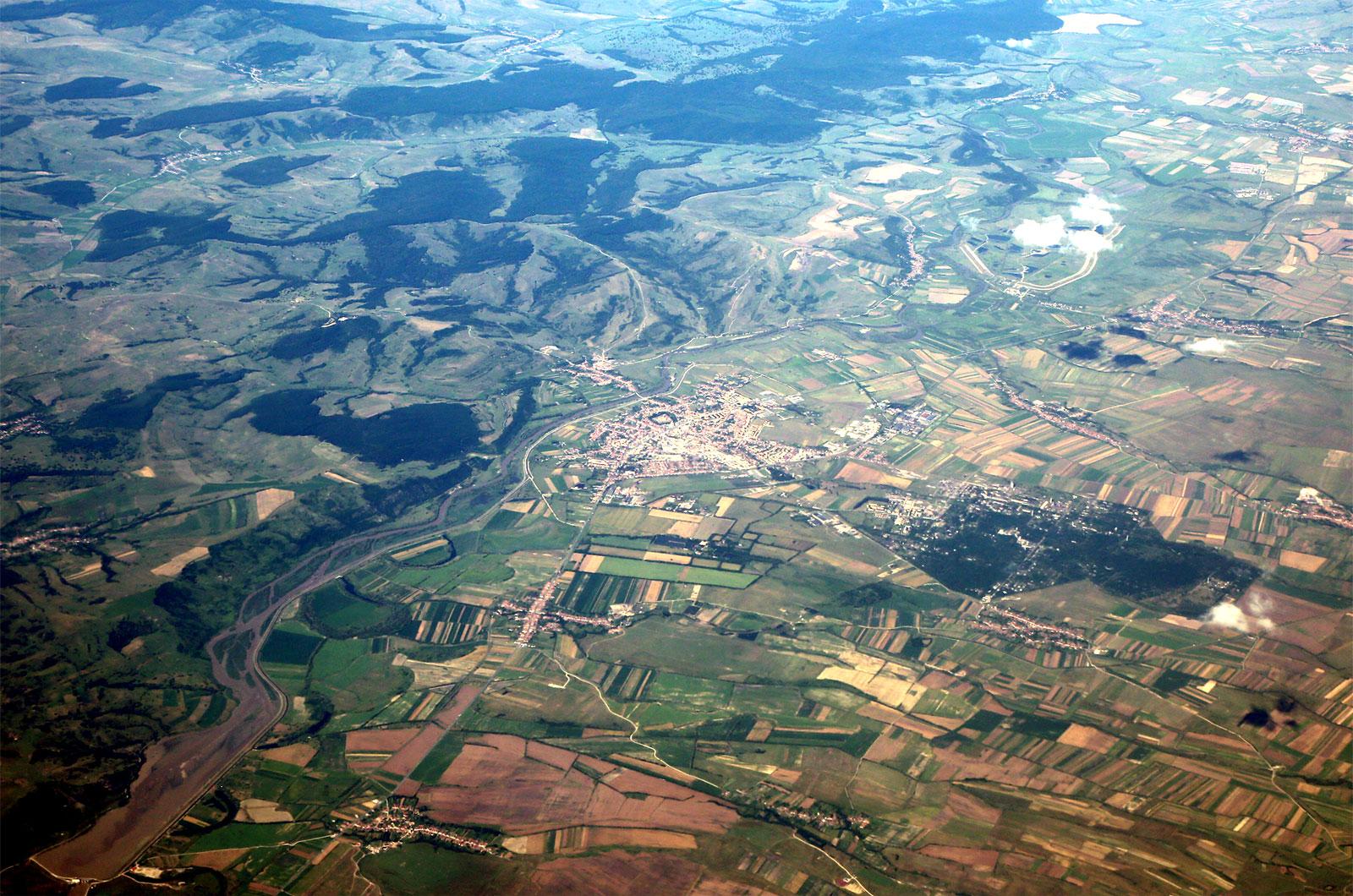 В небе над Трансильванией