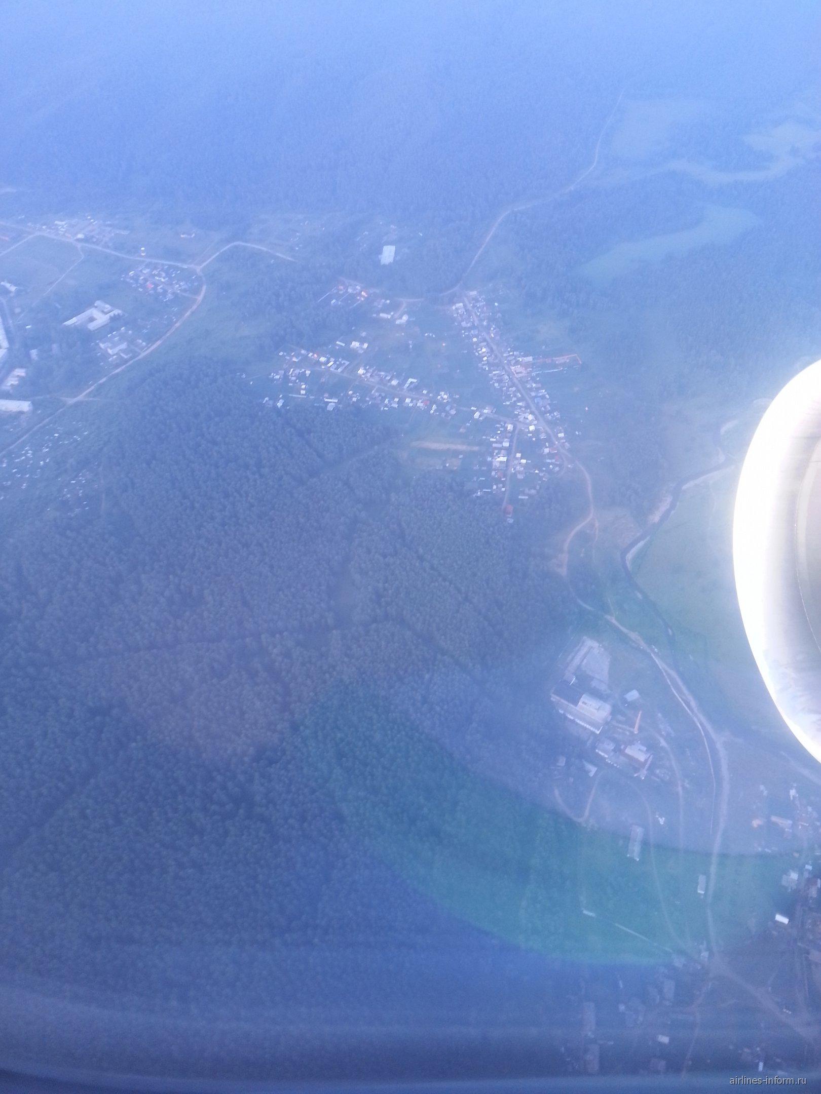 В полете над Сибирью