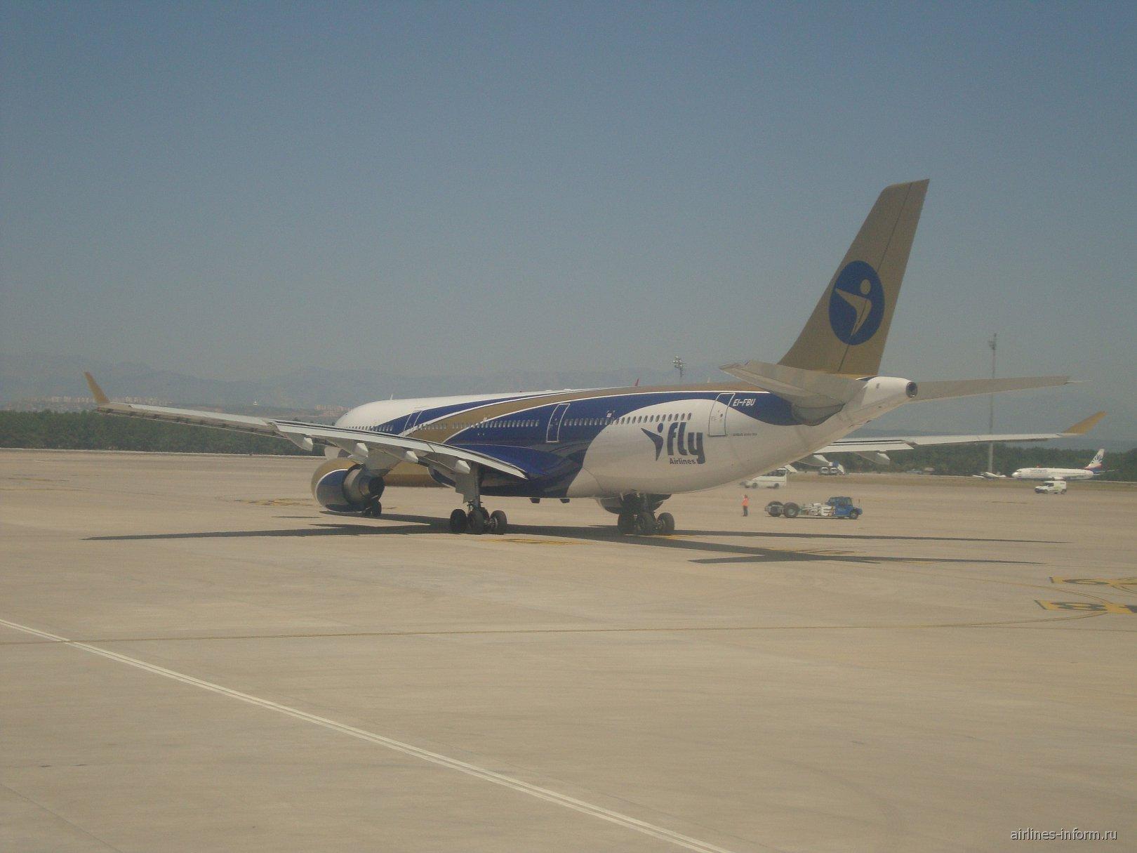 Эрбас А330 Ай Флай в аэропорту Антальи