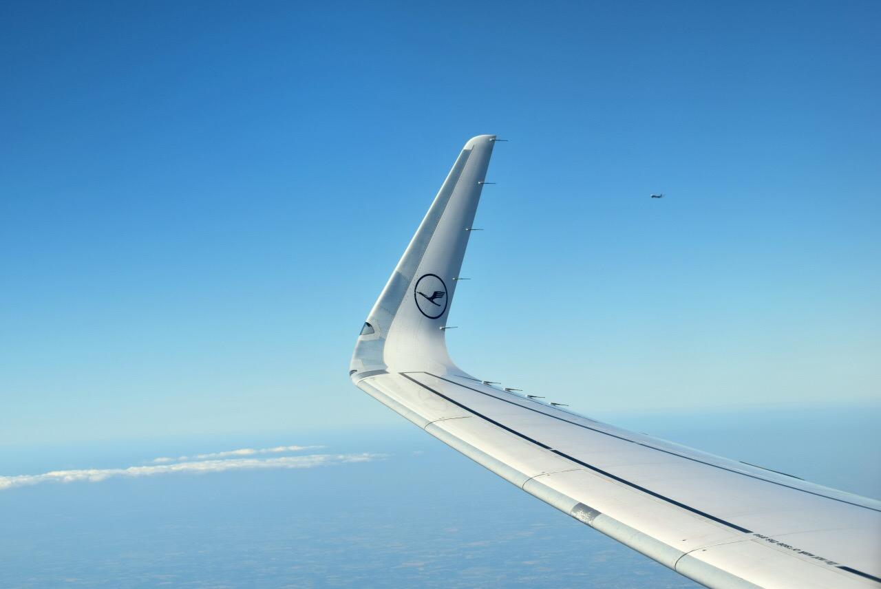 Сказочная Британия: LH916 FRA-LHR A320SL Business
